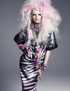 Model Daphne Groeneveld, photographer Greg Kadel for Numéro #124