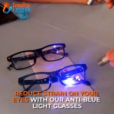 Blue Light Blocking Glasses - ⭐⭐⭐⭐⭐ (5/5)  Now, you can protect your eyes and prevent any future issues without having to get off of your computer at home or work. You can even check your social media on your phone at night or play your favorite games online, etc. No more worries about eye damage or any of the adverse side effects attributed to these activities!  Currently 50% OFF with FREE Shipping! Eye Damage, Eye Strain, Especially For You, Cool Inventions, Mom Hacks, Life Hacks, Side Effects, Things To Know, Shapewear