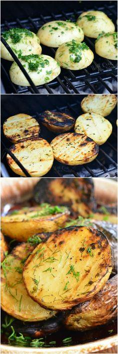 Herbed Grilled Potat