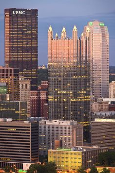 ✮ Pittsburgh....PPG Place....I was never lost in this city if I could look up and see where this building was....I knew where I was.....