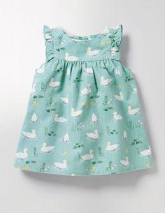 super cute little girls kids dress Ruffle Cord Pinafore #affiliate