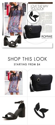 """""""ROMWE 10/9"""" by melissa995 ❤ liked on Polyvore featuring White Label"""