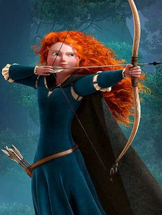 So over the summer I went to see Disney's Brave and I thought it was fantastic. The princess in the movie, Merida, is all about butt-kicking girl power and refuses to marry any man who cannot beat ...