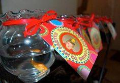 Goldfish party favor
