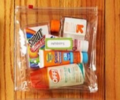 The ideal summer and beach supply bag for adults and children