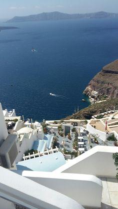 Caldera's view Santorini, Greece