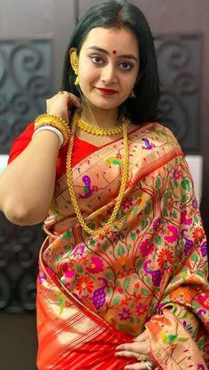Indian Beauty Saree, Indian Sarees, Bengali Bridal Makeup, Beautiful Girl Body, Indian Celebrities, Everyday Outfits, Bridal Collection, Indian Actresses, Spa