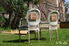 carteles_mr_ms_madera_2 Wedding Planner, Dining Chairs, Furniture, Home Decor, The Originals, Chairs, Weddings, Boyfriends, Wood