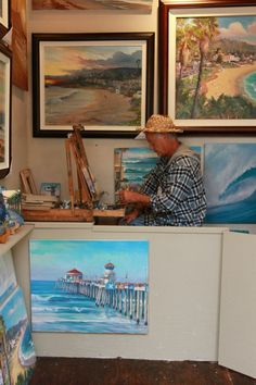 Walter Viszolay painting in his Sawdust Winter Fantasy Booth http://www.facebook.com/photo.php?fbid=10151332712601271=a.10151332712186271.522325.127022826270=1