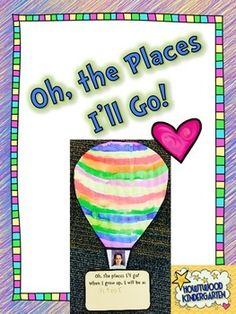 Looking for an adorable little project to compliment the super popular Dr. Seuss book Oh, The Places Youll Go?  This is the one!Timing: Many teachers love to share this story during the first week of March in honor of Dr. Seuss birthday and its also a great one for the beginning or end of the school year or anytime!