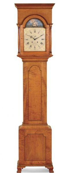 Pennsylvania tall clock by Lonnie Bird.
