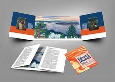 Art Pamphlet - typeA (Edvard Munch) 전시회 팜플렛 A타입 (에드바르뭉크전)