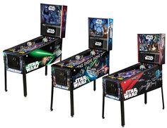 Stern Pinball, Star Wars Pinball, pinball machine, coin-op game