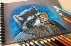 Such tenderness captured in a drawing...
