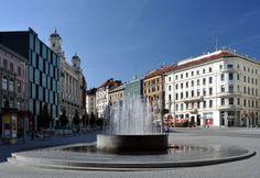 Площадь свободы http://www.моя-чехия.рф/dostoprimechatelnosti-goroda-brno/
