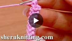 How to make the basic crochet cord (braid) for Romanian Point Lace/Macramé Crochet Lace Crochet I Cord, Crochet Lace, Crochet Stitches, Diy Crafts Knitting, Diy Crafts Crochet, How To Start Crochet, Crochet Handles, Knitting Patterns, Crochet Patterns