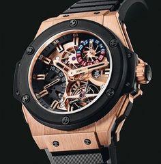 Dieses und weitere Luxusprodukte finden Sie auf der Webseite von Lusea.de  Mens watch - Hublot Tourbillion