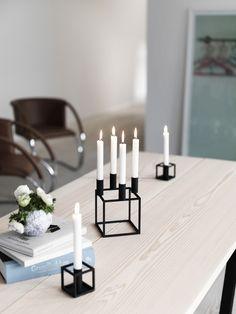 Kubus 4 candleholder from By Lassen.  #candleholder