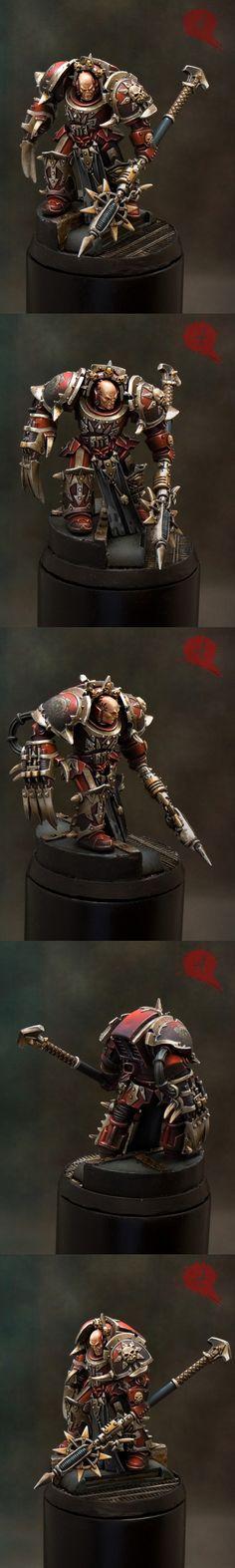 chaos terminator lord, gold spanish GD