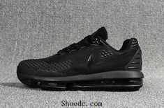 05a2bd96211 New Coming Nike Air Max 2019 KPU All Cool Black Men Shoes