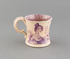 Children's Mug | Drinking Vessels | 1970.1310.736 -- Historic New England