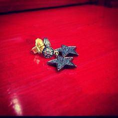 Sometimes, I want to fall from the stars.. Straight into your arms. Earrings available at Mukhi Sisters- Beirut Souks.