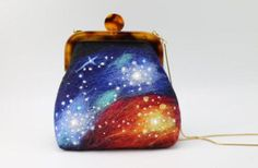 Look At These Adorable Needle Felted Space Purses