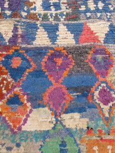 """Morroan rug Tapis Boucherouite """"berber"""""""