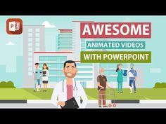 Presentation Video, Presentation Skills, Powerpoint Animation, Computer Basics, Create Animated Gif, Animation Tutorial, Create Animation, Instructional Design, Microsoft Powerpoint