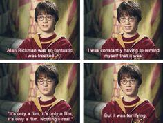harry potter humor   Harry Potter - Humor / But it was terrifying. (: