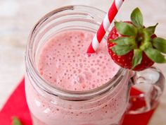 Garden Fresh Strawberry Smoothie