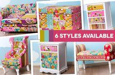 Boho Patchwork Kids Furniture Delivered   American Style Furniture