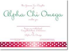 alpha chi omega bid day cards (b)
