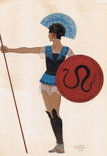 George Barbier, Costumes created for Lysistrata 1927