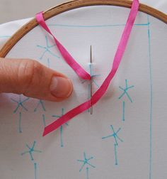 FABULOUS TUTORIAL for silk ribbon embroidery....gonna use these on my crazy quilt