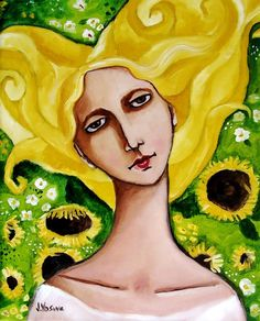 Sunflower Girl by Jennifer Yoswa