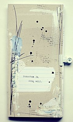 great journal page #mixed media
