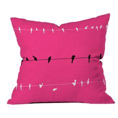 Neon Nature Pillow - Feeling Rosy on Joss & Main