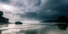 Piha Beach, West Coast, New Zealand by peter rees photography on 500px