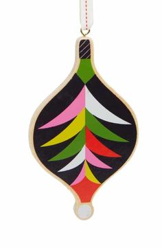 Nordstrom at Home Wooden Bauble Ornament