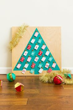 Customizable Christmas Advent Calendarcountryliving