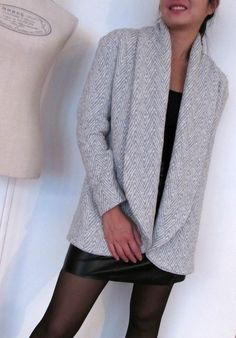 Oh Aime comme Madawan !: Mydress-made Sewing Clothes, Diy Clothes, Clothes For Women, Aime Comme Marie, Diy Vetement, Look Fashion, Womens Fashion, Couture Sewing, Winter Wear