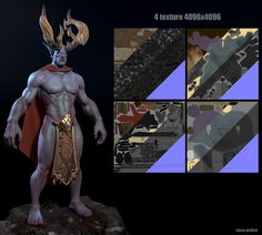 ArtStation - The King of druid of the talon, Slava Gedich