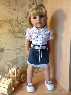Doll Making Tutorials, Gotz Dolls, Knit Shoes, Medieval Dress, Doll Accessories, Knit Dress, American Girl, Doll Clothes, Summer Dresses