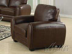 ACME 15242B Amber Chair with Bonded Leather, Light Brown - The price dropped 13%