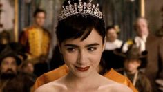 lily collins in mirror mirror | she looks just like audrey!