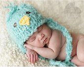 Little Fluffy Knit Baby Chick Hat Adorable Photography Prop for Spring Heidi Truong Baby Knitting, Crochet Baby, Knitted Baby, Funny Babies, Cute Babies, Baby Chicks, Knitting Projects, Knitting Ideas, Knitting Patterns