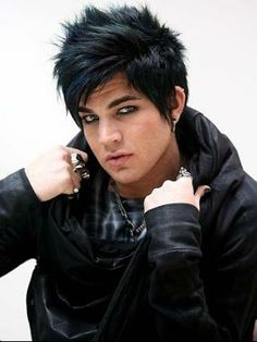 Singer and American Idol finalist Adam Lambert in Sydney.