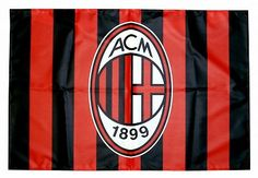 ac milan flag AC Milan Official Merchandise Available at www.itsmatchday.com