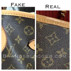 How To Spot A Fake Louis Vuitton Neverfull Bag for all sizes. In this article we have explained in a few simple how not to be frauded by fake products. Louis Vuitton Nails, Real Louis Vuitton, Vintage Louis Vuitton, Louis Vuitton Monogram, Toms Shoes Outlet, Burberry Handbags, Purses And Handbags, Luxury Handbags, Cheap Handbags